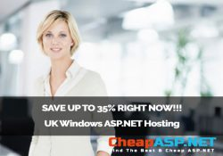 SAVE UP TO 35% RIGHT NOW!!! UK Windows ASP.NET Hosting