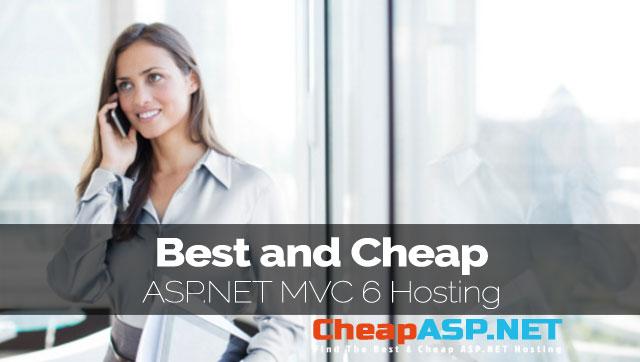 ASP.NET MVC 6 Hosting - Easy Way To Use Tag Helpers in ASP.NET MVC 6