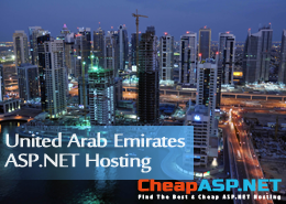 Best and Cheap United Arab Emirates ASP.NET Hosting