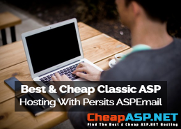 Best and Cheap Classic ASP Hosting With Persits ASPEmail