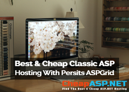 Best and Cheap Classic ASP Hosting With Persits ASPGrid