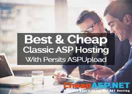 Best and Cheap Classic ASP Hosting With Persits ASPUpload