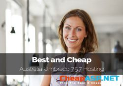 Best and Cheap Australia Umbraco 7.5.7 Hosting