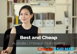 Best and Cheap Australia Umbraco 7.5.8 Hosting
