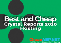 Best and Cheap Crystal Reports 2010 Hosting