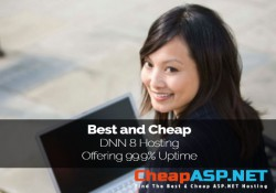 Best and Cheap DNN 8 Hosting Providers Offering 99.9% Uptime