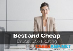 Best and Cheap Drupal 8.1.0 Hosting