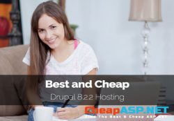 Best and Cheap Drupal 8.2.2 Hosting