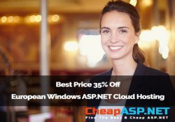 Best Price 35% Off European Windows ASP.NET Cloud Hosting