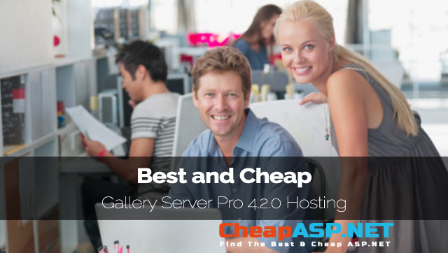 Best and Cheap Gallery Server Pro 4.2.0 Hosting