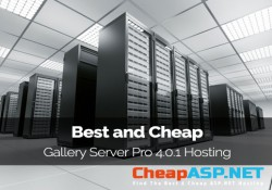 Best and Cheap Gallery Server Pro 4.0.1 Hosting