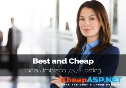 Best and Cheap India Umbraco 7.5.7 Hosting