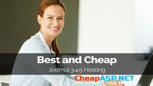 Best and Cheap Joomla 3.4.5 Hosting