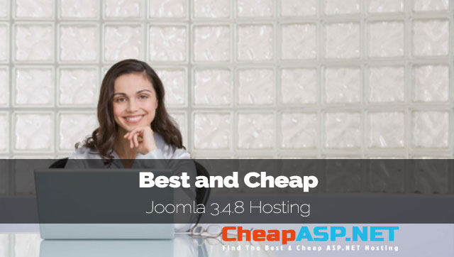 Best and Cheap Joomla 3.4.8 Hosting in Linux Server