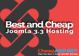 Best and Cheap Joomla 3.3 Hosting