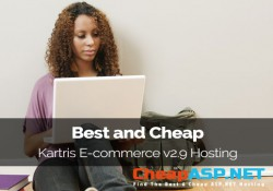 Best and Cheap Kartris E-commerce v2.9 Hosting