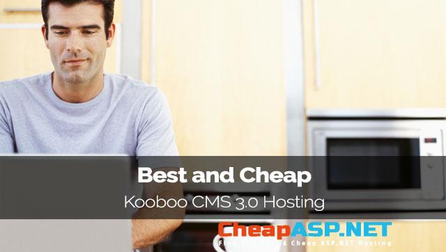 Best and Cheap Kooboo CMS 3.0 Hosting