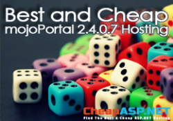 Best and Cheap mojoPortal 2.4.0.7 Hosting