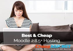 Best & Cheap Moodle 2.8.5+ Hosting