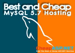 Best and Cheap MySQL 5.7 Hosting