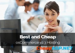 Best and Cheap osCommerce v2.3 Hosting