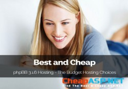 Best and Cheap phpBB 3.1.6 Hosting - The Budget Windows Hosting Choices