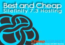 Best and Cheap Sitefinity 7.3 Hosting