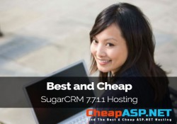 Best and Cheap SugarCRM 7.7.1.1 Hosting
