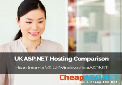 UK ASP.NET Hosting Comparison - Heart Internet VS UKWindowsHostASP.NET