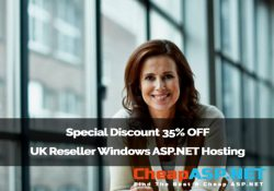 Special Discount 35% OFF - UK Reseller Windows ASP.NET Hosting