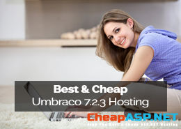 Best and Cheap Umbraco 7.2.3 Hosting