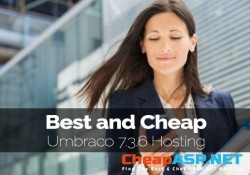 Best and Cheap Umbraco 7.3.6 Hosting Providers Offering 99.9% Uptime
