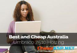 Best and Cheap Australia Umbraco 7.5.10 Hosting
