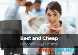Best and Cheap Umbraco 7.5.4 Hosting