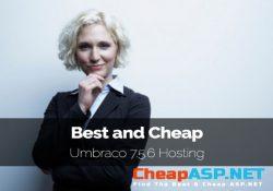 Best and Cheap Australia Umbraco 7.5.6 Hosting