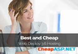 Best and Cheap Web Deploy 3.6 Hosting