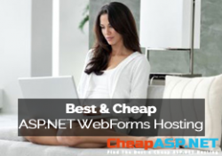 Best and Cheap ASP.NET Web Forms Hosting