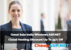 Great Sale India Windows ASP.NET Cloud Hosting Discount Up To 35% Off