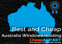 Best and Cheap Australia Windows Hosting