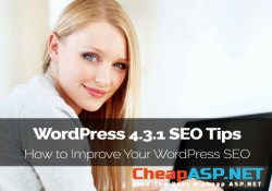 WordPress 4.3.1 SEO Tips - How to Improve Your WordPress SEO