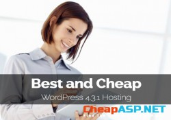 Best and Cheap WordPress 4.3.1 Hosting - Up to 2.5X Faster