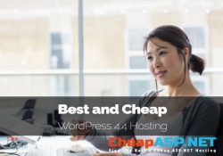 Best and Cheap WordPress 4.4 Hosting