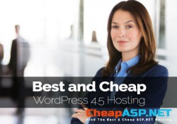 Best and Cheap WordPress 4.5 Hosting