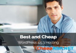 Best and Cheap WordPress 4.5.3 Hosting