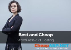 Best and Cheap WordPress 4.7.1 Hosting