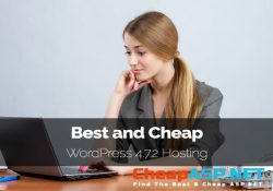 Best and Cheap WordPress 4.7.2 Hosting