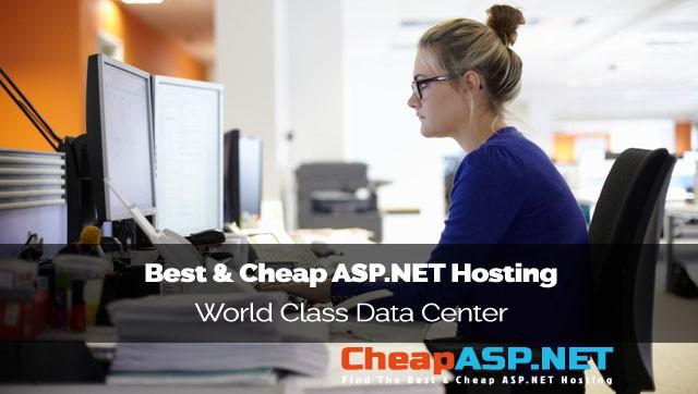 Best and Cheap ASP.NET Hosting - World Class Data Center