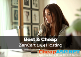 Best and Cheap ZenCart 1.5.4 Hosting