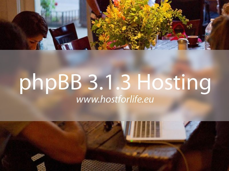 Cheap ASP.NET Hosting with phpBB 3.1.3